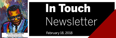 February 18, 2018 In Touch Newsletter